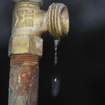 photo of faucet dripping