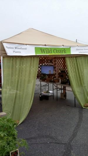 Wild Ozark's Market booth