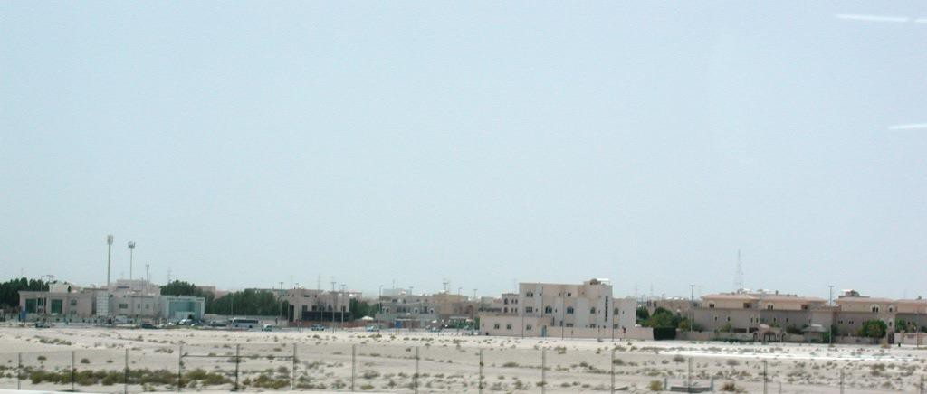 Apartments in the desert