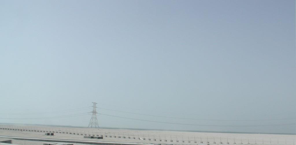 Between Al Reef and Abu Dhabi city