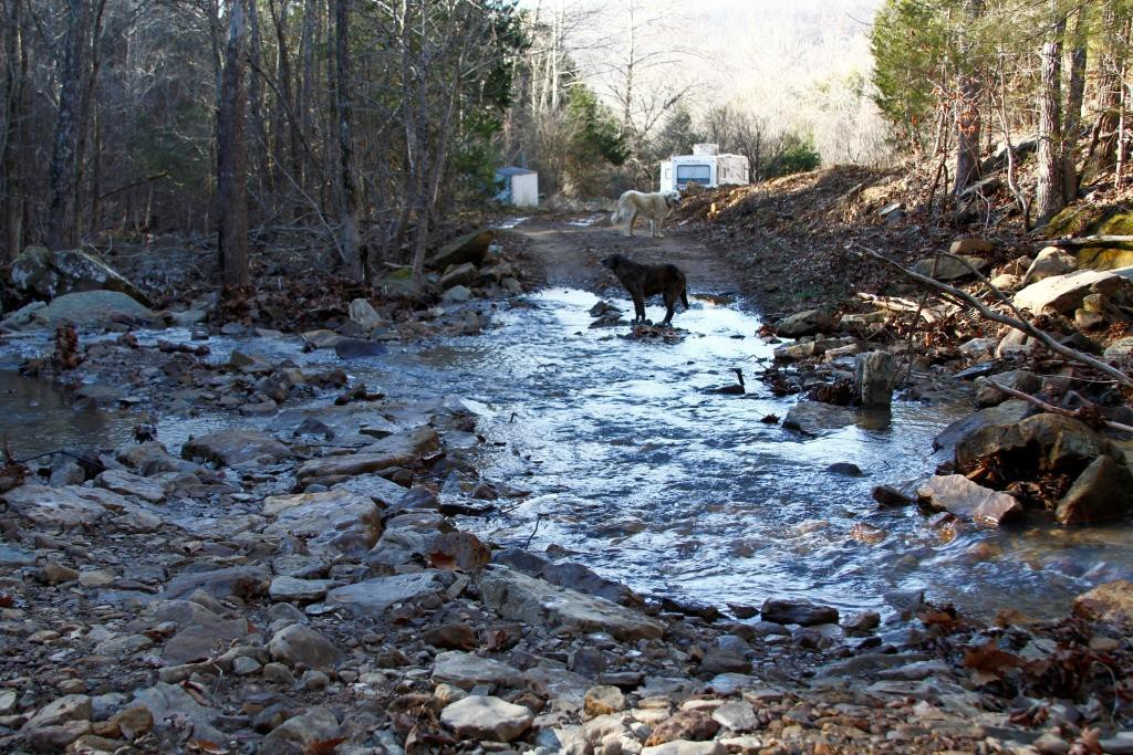 driveway crossing creek