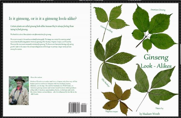 Paperback cover for Ginseng Look-Alikes
