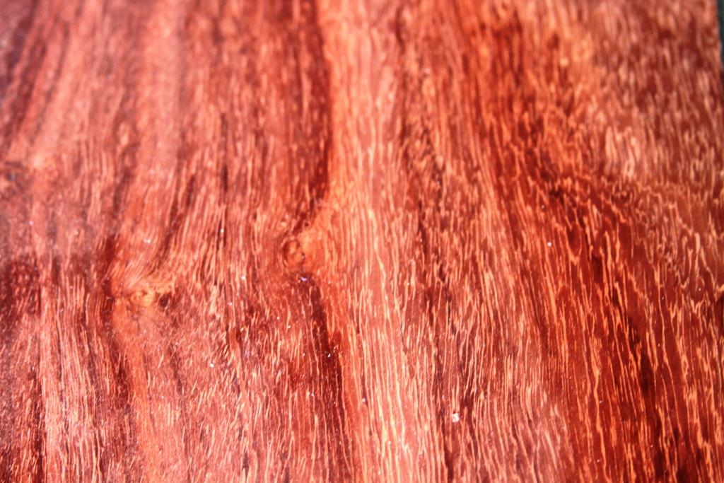 Chakte kok is a rich red wood with bold grain.