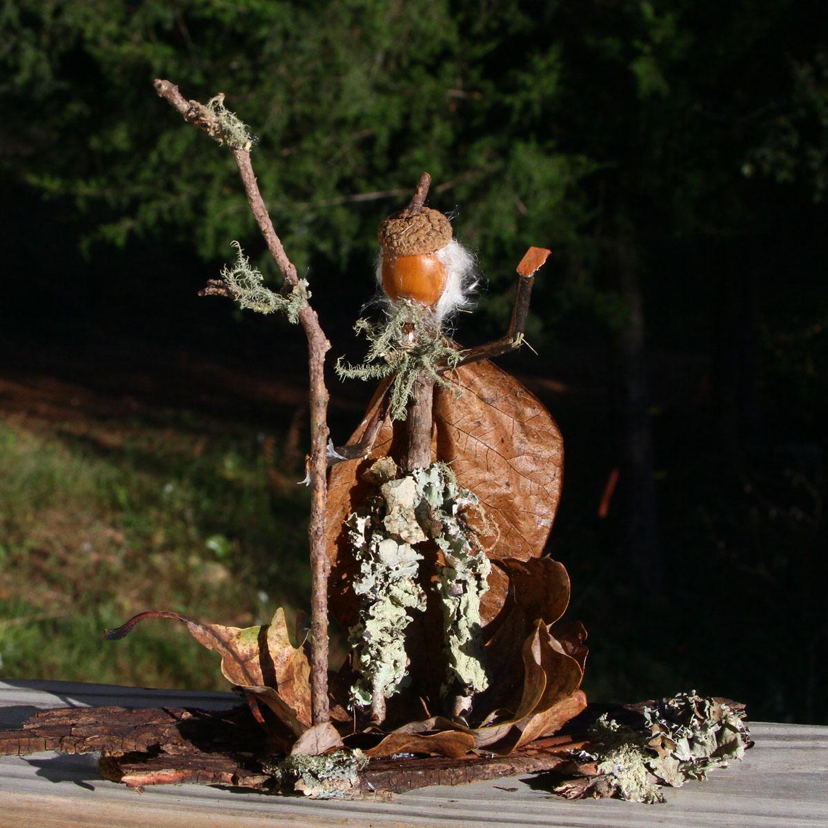 Acorn Folk Wizard