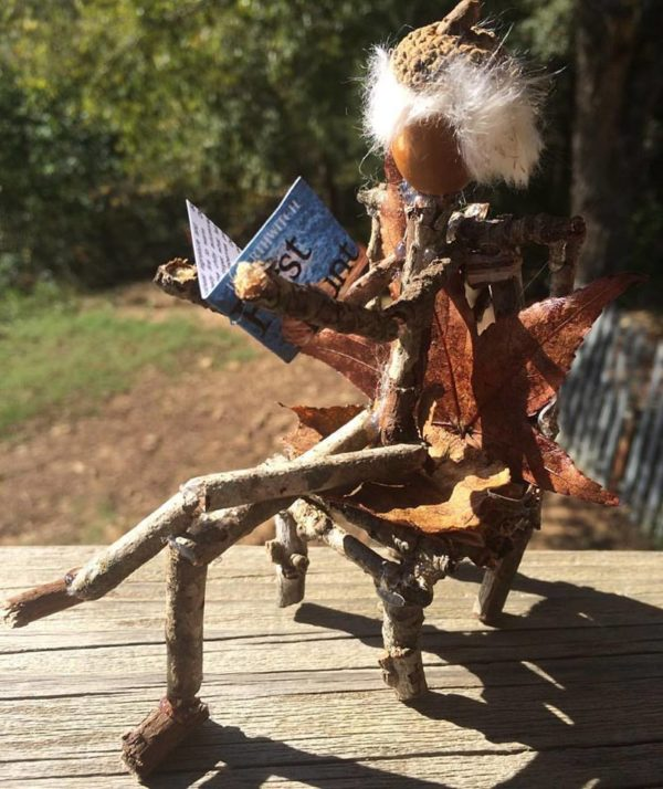 Reading Acorn Man is one of the Wild Ozark Forest Folk.