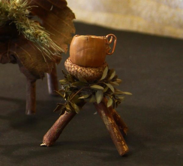 Fairy Cup and Stand, $10 now at the Wild Ozark Shop at Etsy.