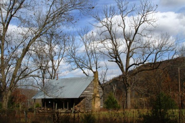An old homestead that belongs to the neighbors.