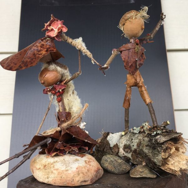 Nature art recap: The two latest Forest Folk are also on display and for sale at the Kingston Square Arts shop.