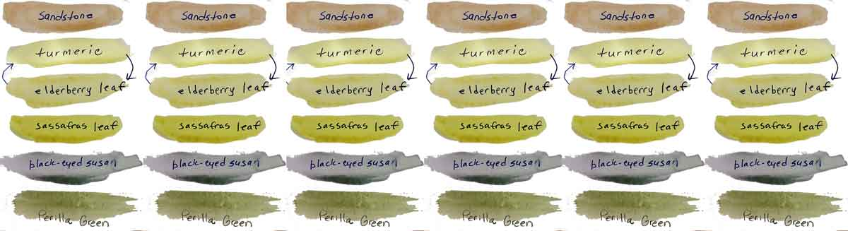 My first set of all handmade watercolor paints.