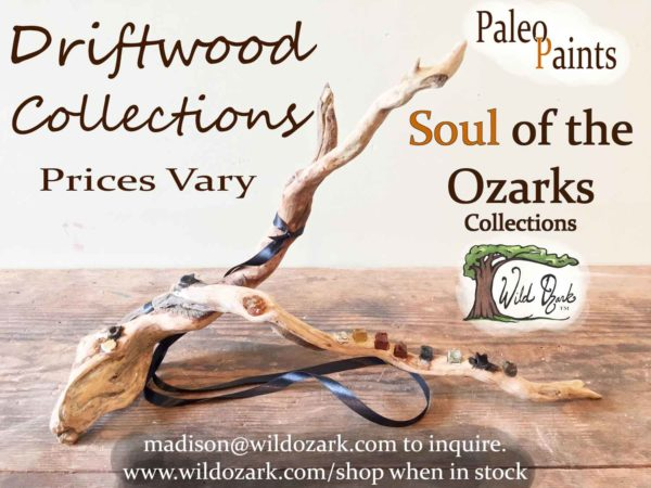 Driftwood palette from Wild Ozark Paleo Paints.