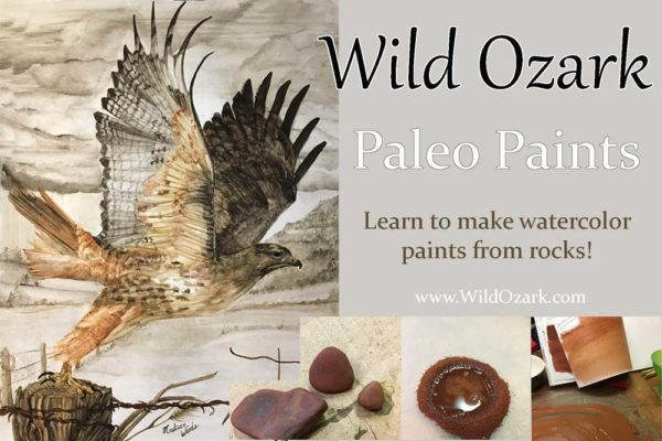 Join Madison Woods for workshops foraging for pigments and making watercolor paints.