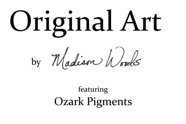 Current and past exhibits for art by Madison Woods.