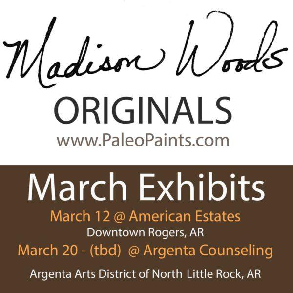 March exhibit schedule