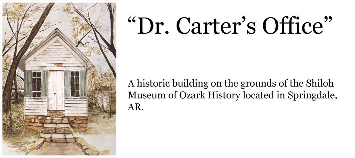 header for my post on Dr. Carter's Office painting.