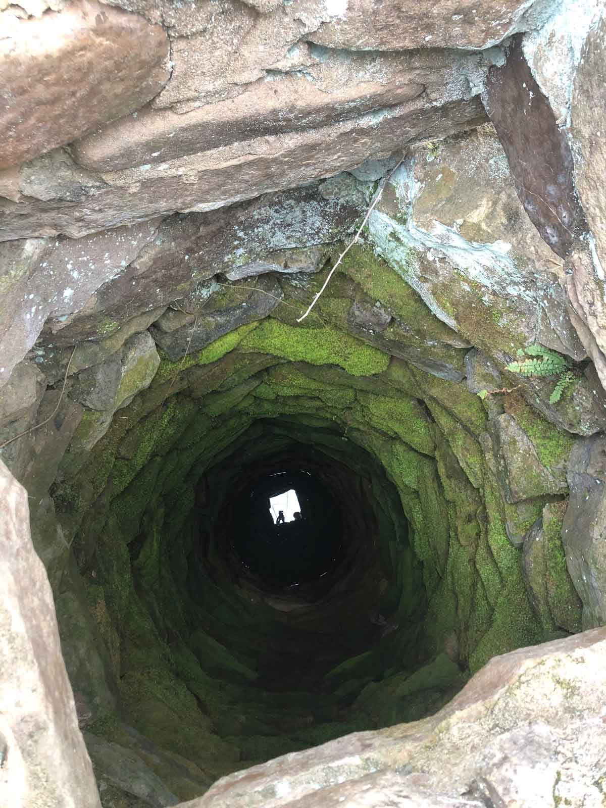 One of the images shared in my monthly newsletter. It's many hand dug wells in the Ozarks.