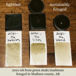 Earthy green from Wild Ozark Paleo Paints